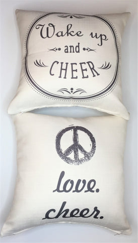 Cheerleader pillow