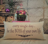 Be your own boss-Bitchez build empires pillow is now here!