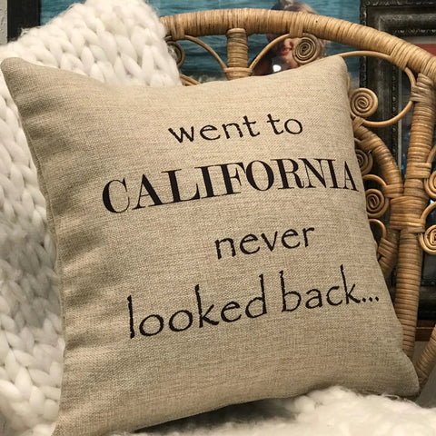 California Dreamers indoor-outdoor pillow