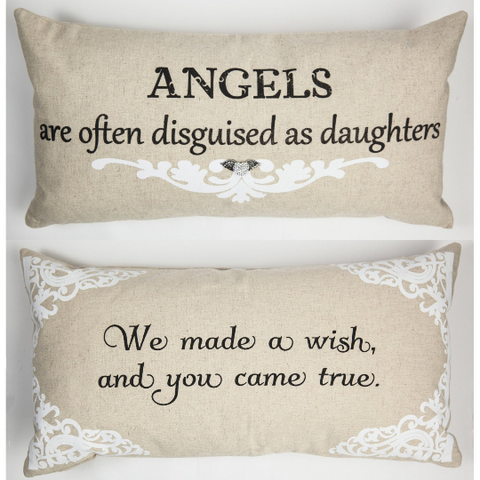 Angels are Often Disguised as Daughters Linen