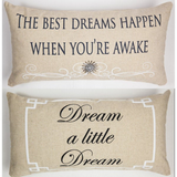 Dreamers Welcome Sparkle Linen