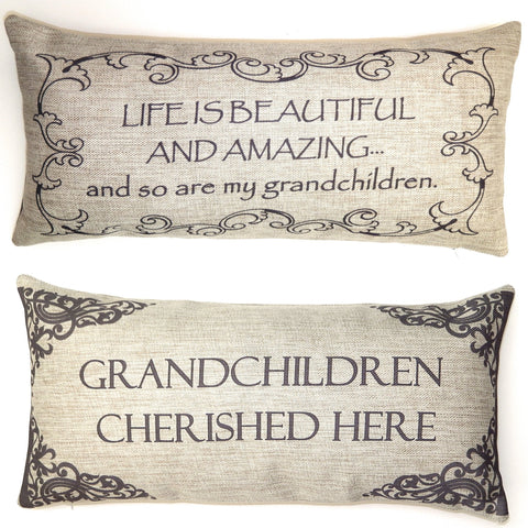 Grandchildren Cherished Here Tweed