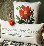 Evelyn Hope Kitchen Linen Pillow