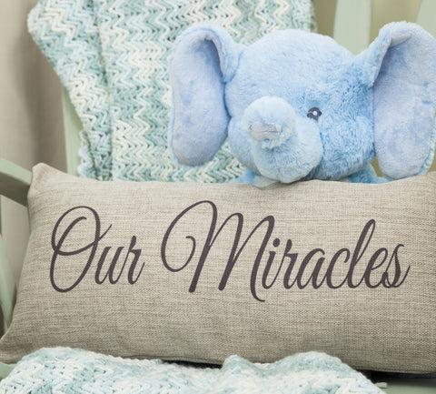 twin miracles baby pillow