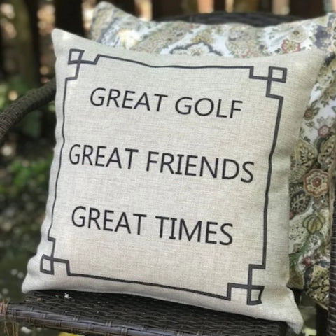 Great Golf Great Friends Great Times