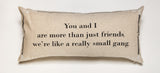 Evelyn Hope Friendship linen pillow