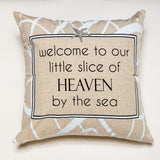 Evelyn Hope Heaven Linen Pillow