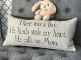 Boys rock pillow