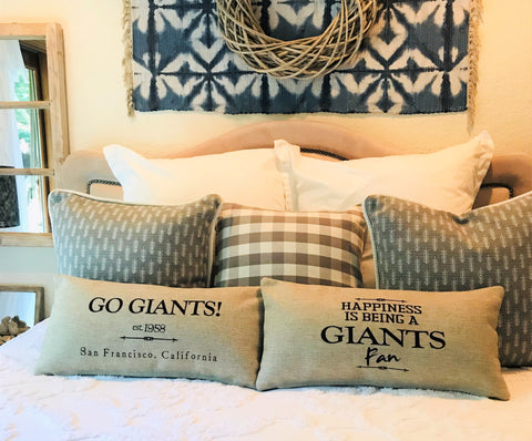 San Francisco Giants Indoor-Outdoor Doublesided Pillow