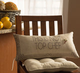Top Chef-Julia Child pillow