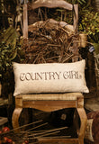 Cowgirl up-Country Girl gifts-pillow
