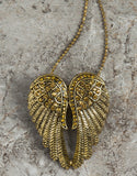 Evelyn Hope Angel Wing necklace-pin