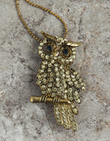 Evelyn Hope Owl Necklace/Pin