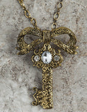 Evelyn Hope Key Necklace/Pin