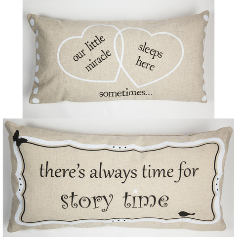 Evelyn Hope Miracle Linen Pillow