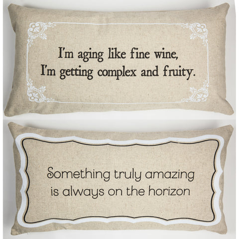 Evelyn Hope Amazing Linen Pillow