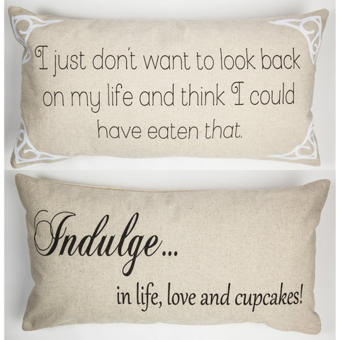 Evelyn Hope Indulge Linen Pillow