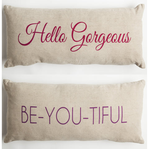 Evelyn Hope Gorgeous Outdoor Pillow