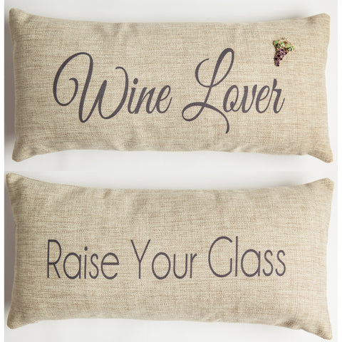 Evelyn Hope Wine1 Tweed Pillow
