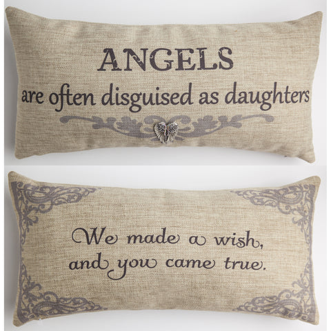 Evelyn Hope Daughters Tweed Pillow