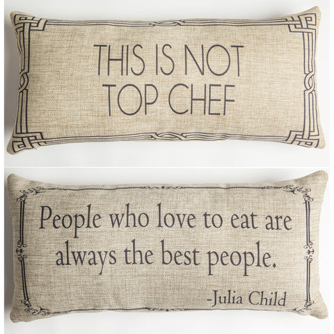 Evelyn Hope Chef Tweed Pillow