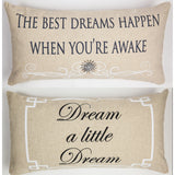 Evelyn Hope Dreams Linen Pillow