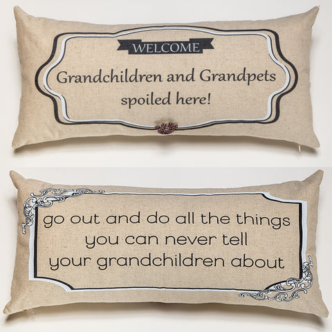Evely Hope Grandchildren Pillow