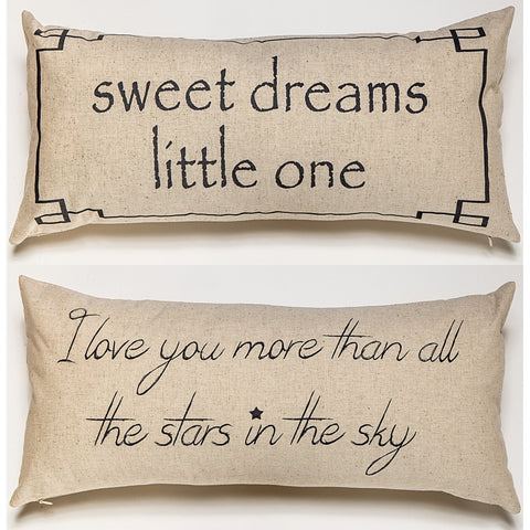 Sweet Dreams Little One Linen