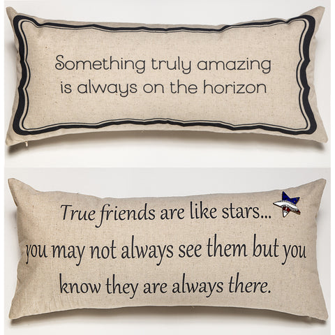 Evelyn Hope Amazing Horizon-Friends Pillow