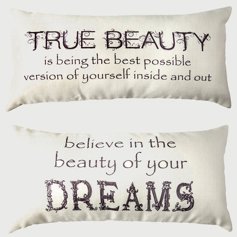 Evely Hope Beauty Pillow