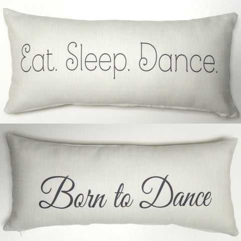 Evelyn Hope Collection Dance Ivory Pillow