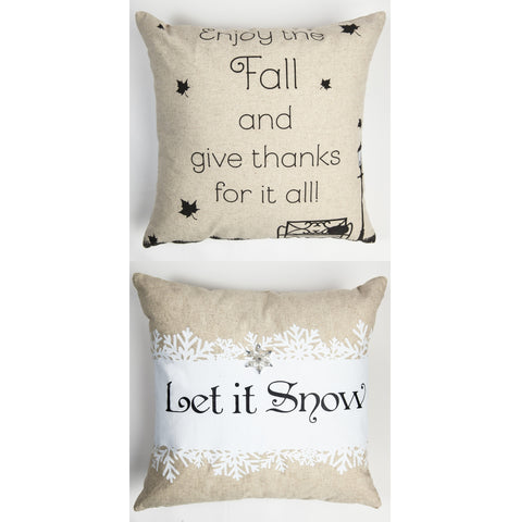 Evelyn Hope Fall Pillow