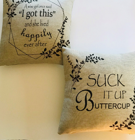 Suck It Up Buttercup Tweed