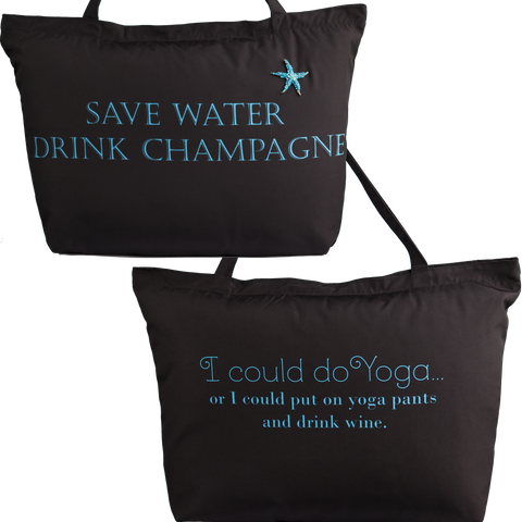 Evelyn Hope Drink Tote Bag