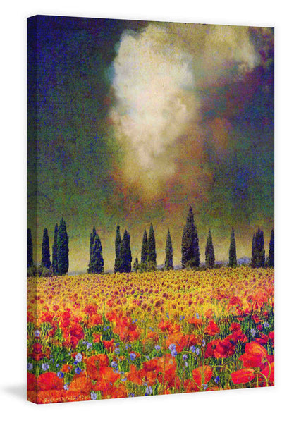 Poppies and Poplar