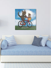 Bike Riding Cat
