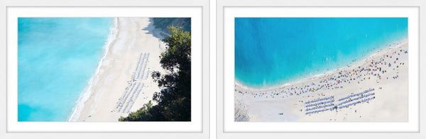Blue Water Diptych