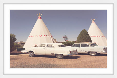 Cars and Teepees