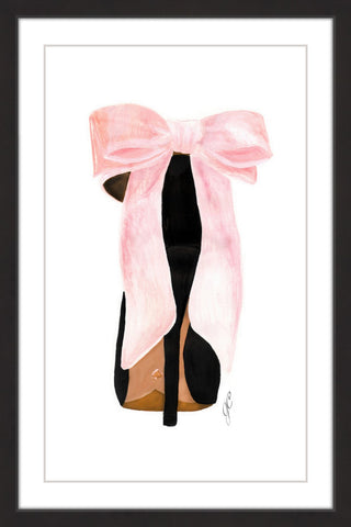 Pink Shoe Bow