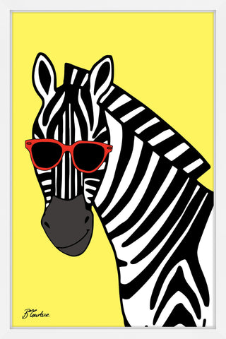 Zebra Hippy Head
