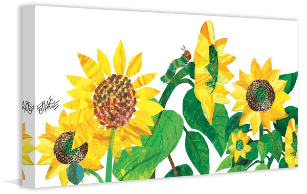 Caterpillar and Sunflowers