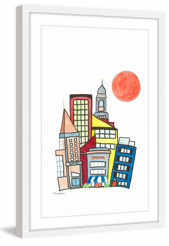 Whimsical Cityscape