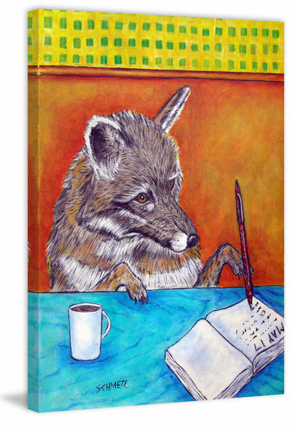 Grey Wolf Writing Journal