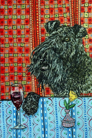 Kerry Blue Terrier Wine