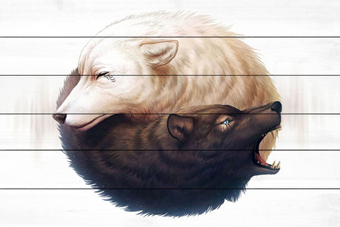 Yin and Yang Wolves