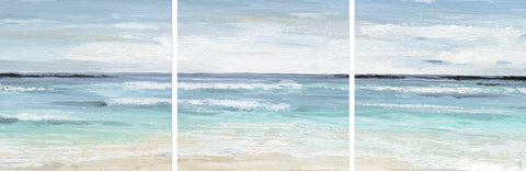 Beach On II Triptych