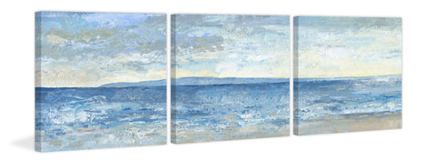Beach Escape II Triptych