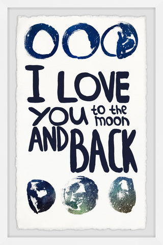 I Love You to the Moon and Black