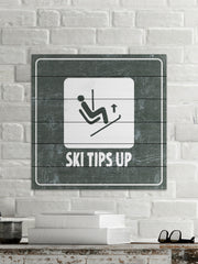 Ski Tips up Diagram