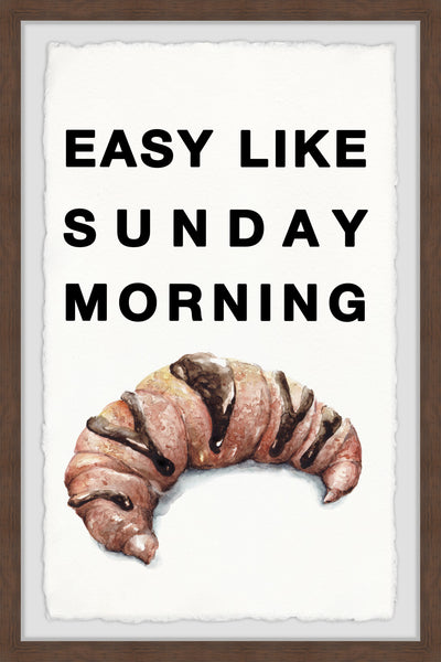 Easy like Sunday Morning VI